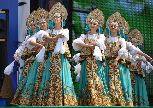 مهرجان الفلكلور كارافون في تتارستان