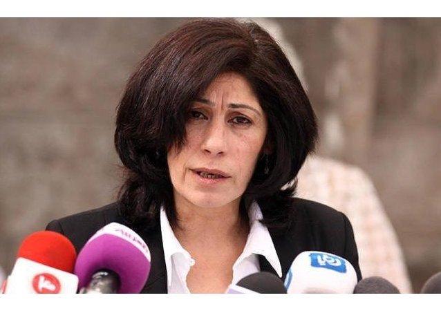 النائبة الفلسطينية خالدة جرار