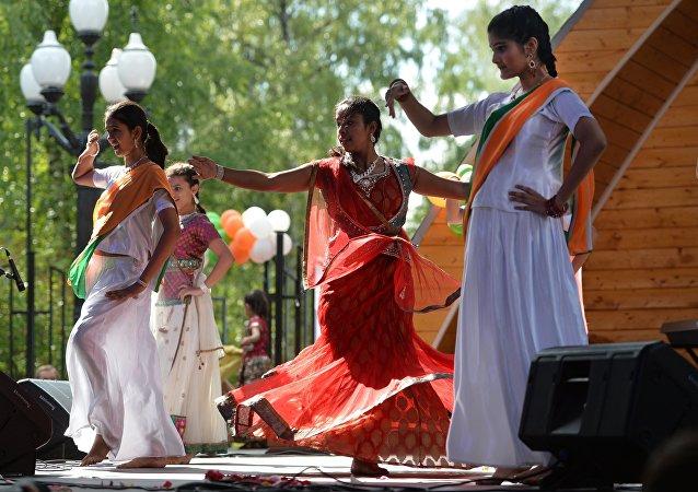 الرقص الهندي