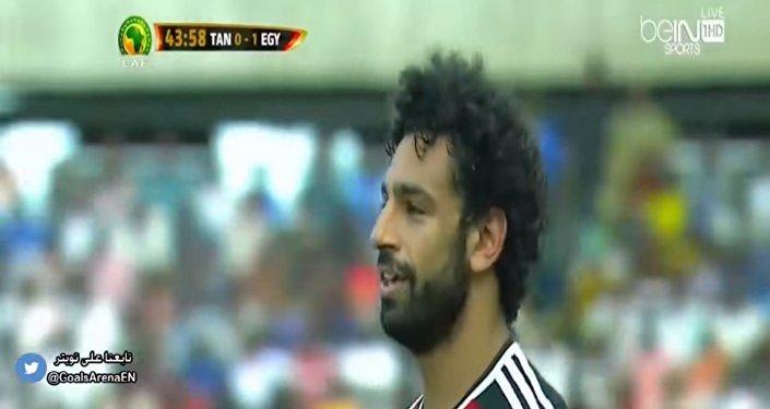 محمد صلاح لاعب منتخب مصر