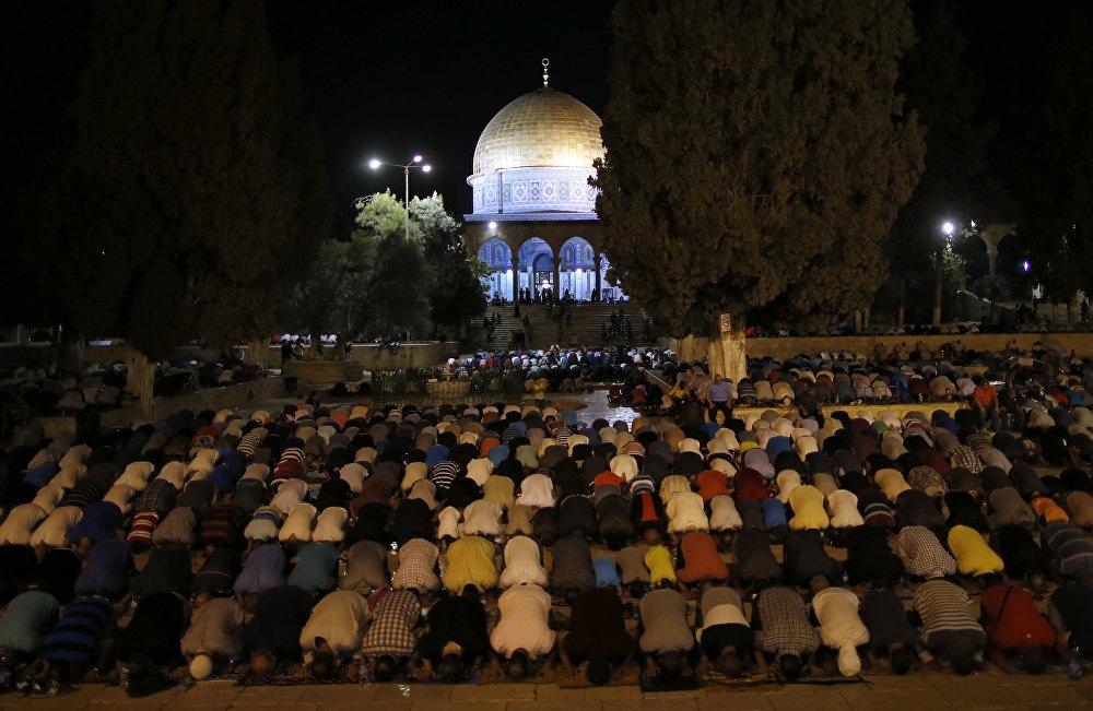 رمضان في فلسطين