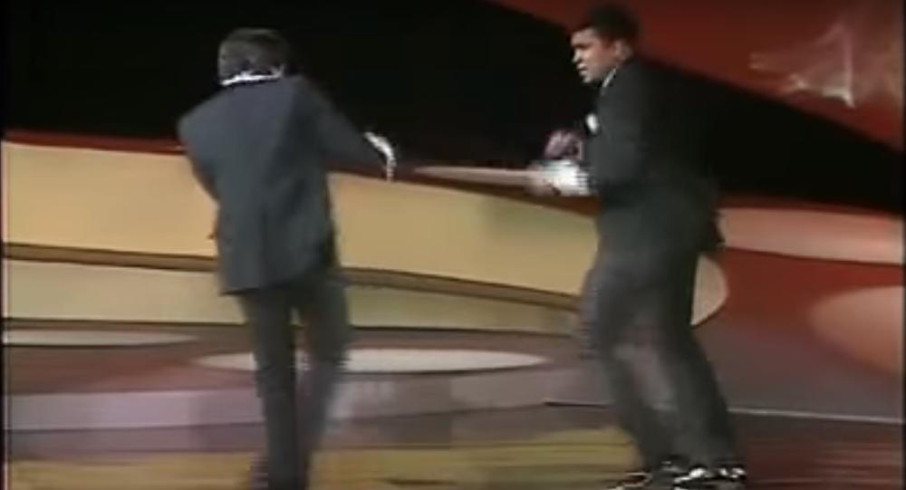 محمد علي وسيلفستر ستالون
