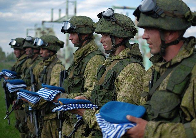 صورة أرشيفية لجنود القوات الخاصة الروسية