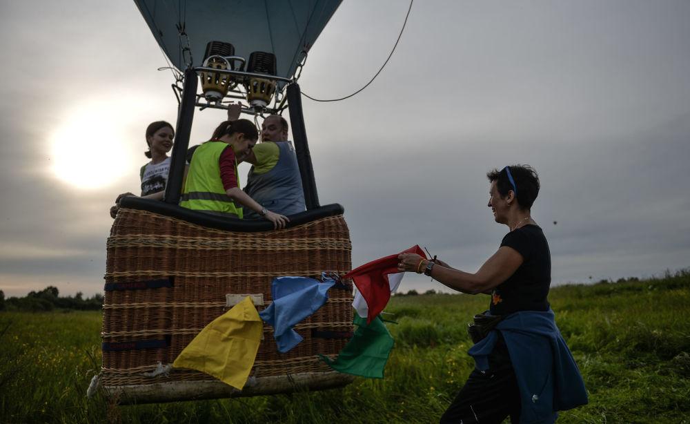 اللقاء الـ 21 لركاب المنطاد في فيليكي لوكي