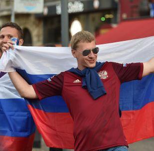 المشجعون الروس