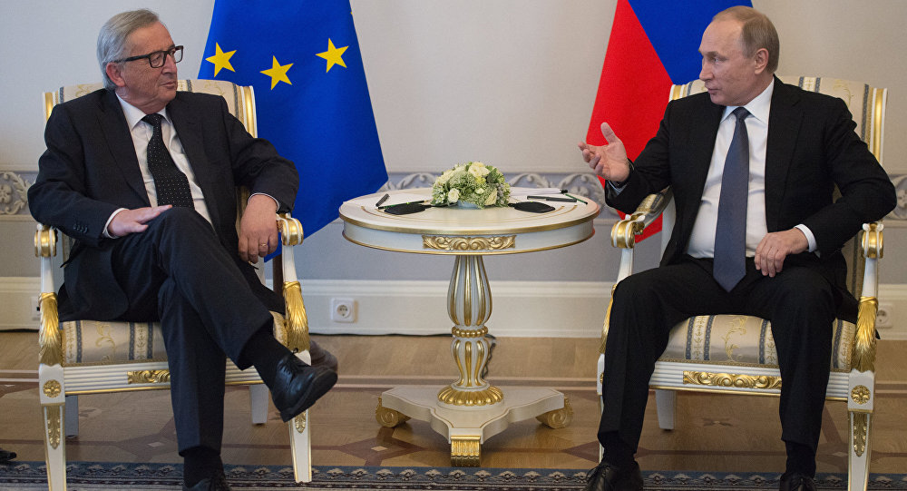بوتين ويونكر
