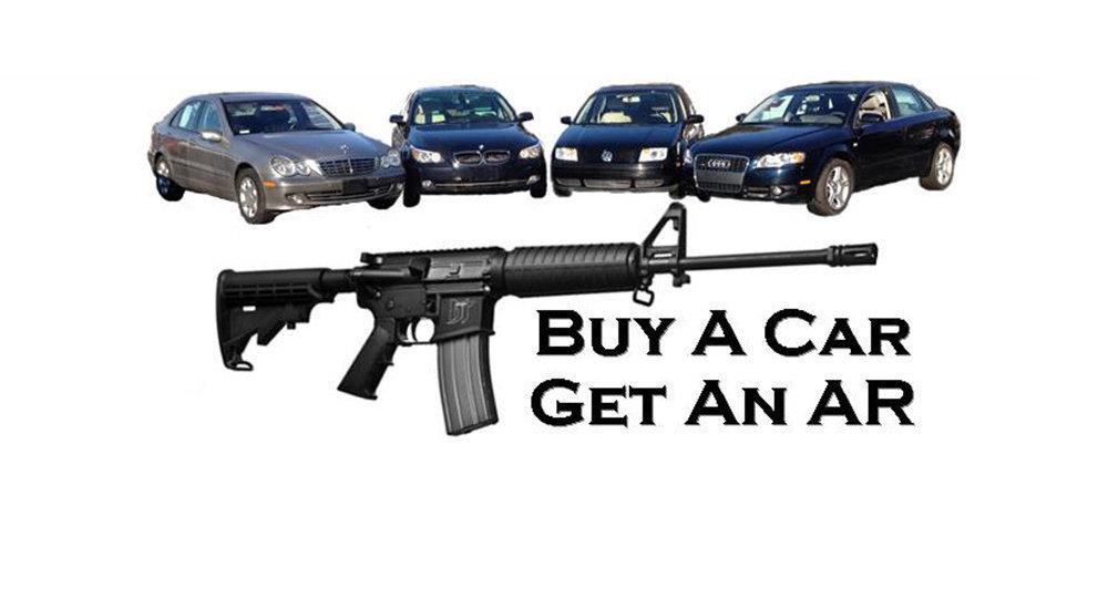 الولايات المتحدة: اشتري سيارة وأحصل على قطعة سلاح