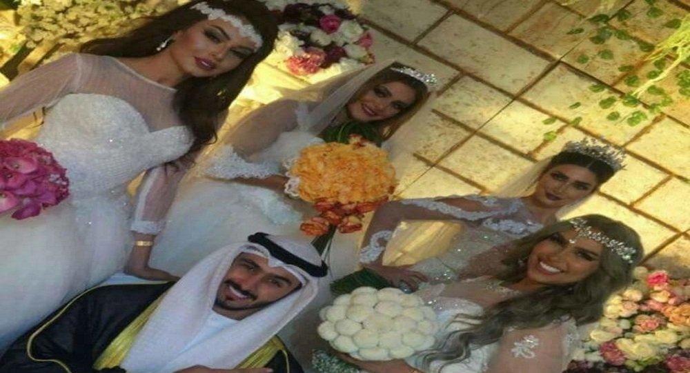 كويتي يتحدى طليقته بالزواج من 4 في يوم واحد
