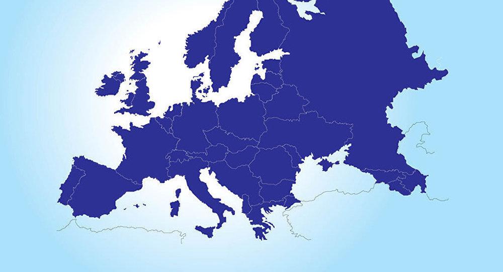 خارطة أوروبا