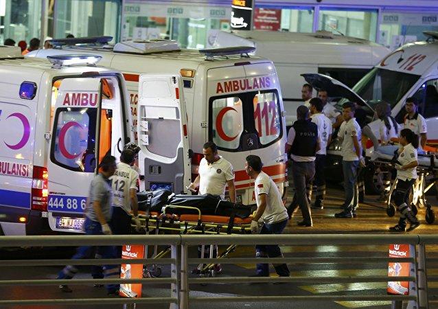 هجمات إرهابية على مطار أتاتورك في اسطنبول