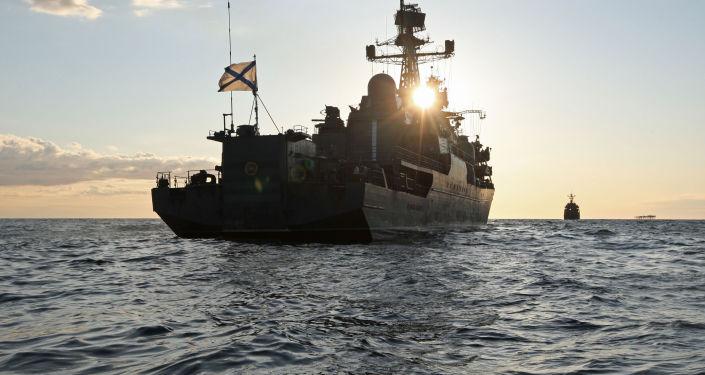 سفينة دورية روسية ياروسلاف مودري