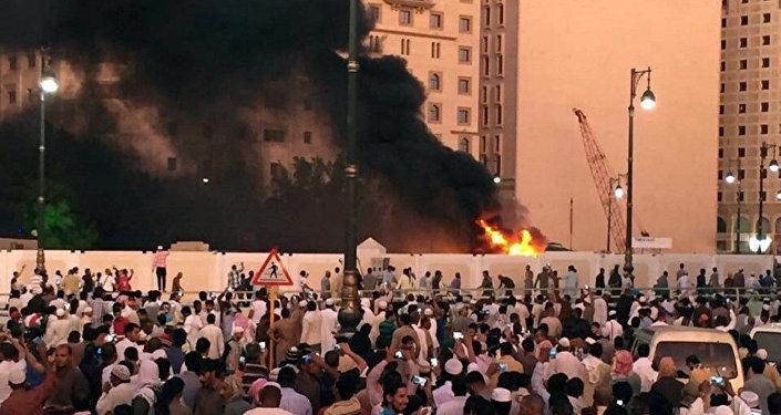انفجار قرب الحرم النبوي