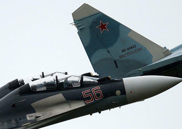طائرتان تابعتان لفرق نسور روسيا