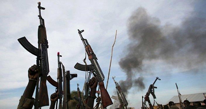 مسلحون في جنوب السودان