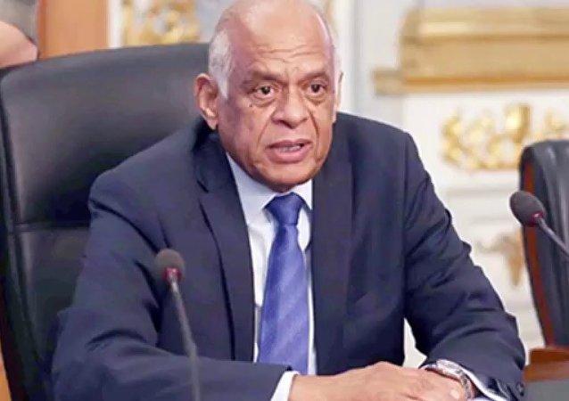 رئيس البرلمان المصري علي عبد العال