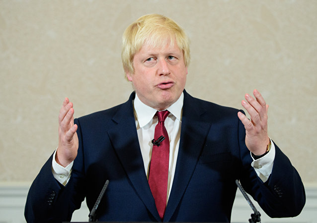 وزير خارجية بريطانية الجديد بوريس جونسون