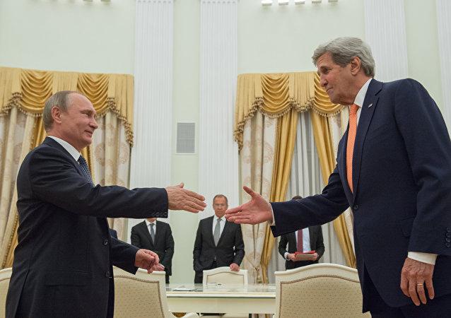 بوتين وكيري