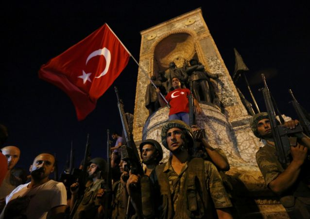 محاولة انقلاب في تركيا