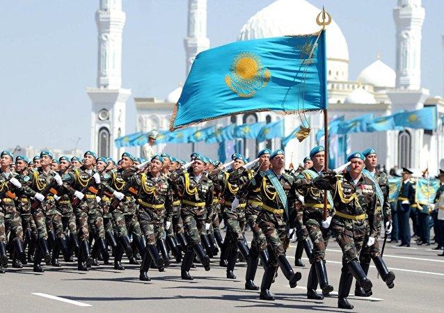 الجيش الكازاخستاني
