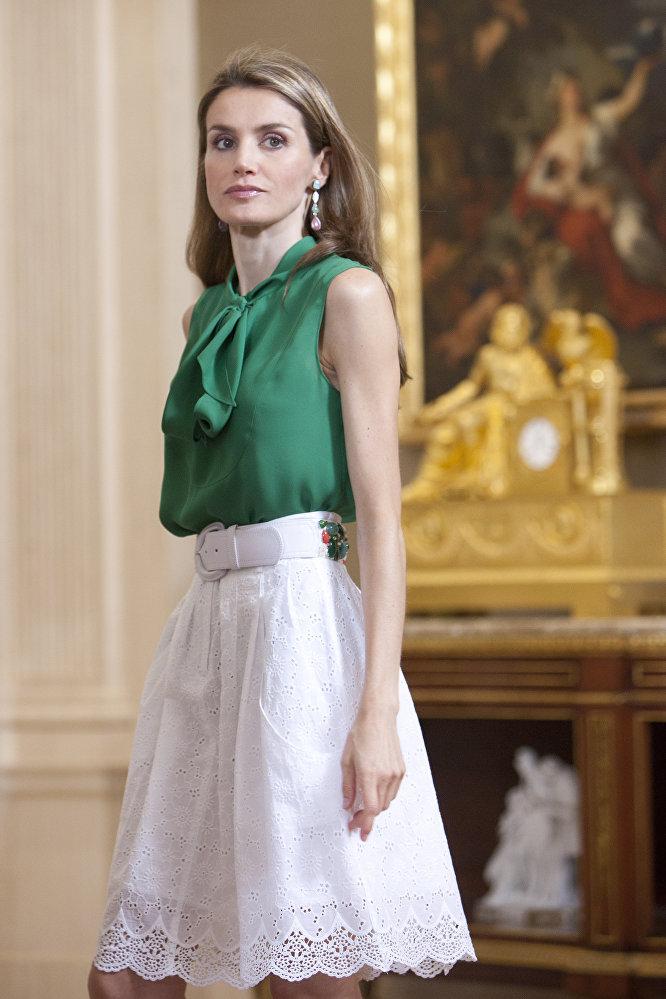 زوجة أمير استورياس فيليبي وريث العرش الإسباني.