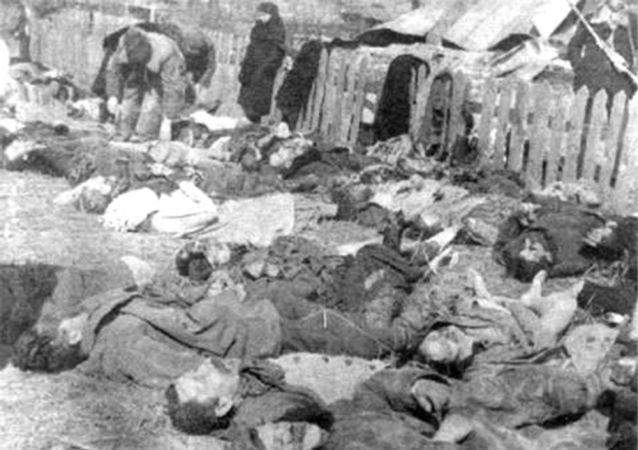 صورة لضحايا مجزرة فولين