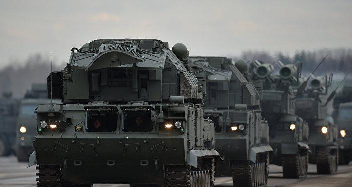 منظومات تور إم-2 وبوك-إم2 الروسية