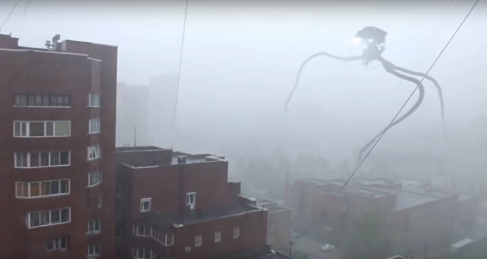 غزو مدينة نوفوسيبيرسك