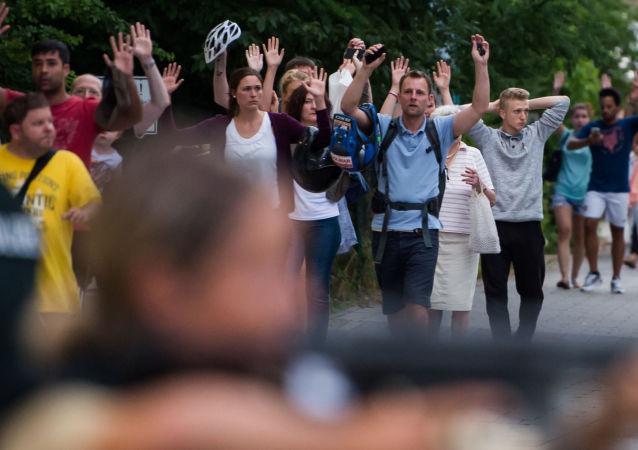 حادث إطلاق النار في ميونيخ