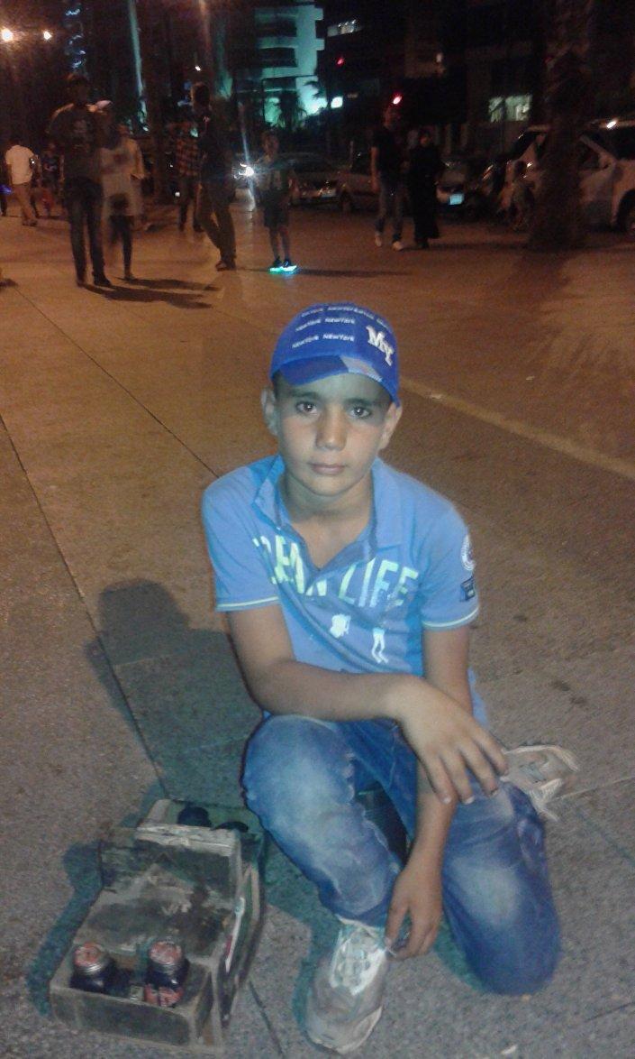 محمد - لاجئ سوري في لبنان