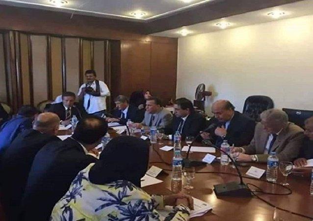 اجتماع مجلس النواب الليبي ونظيره المصري