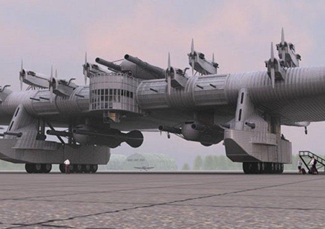 قاذفة الصواريخ الروسية العجيبة كا-7