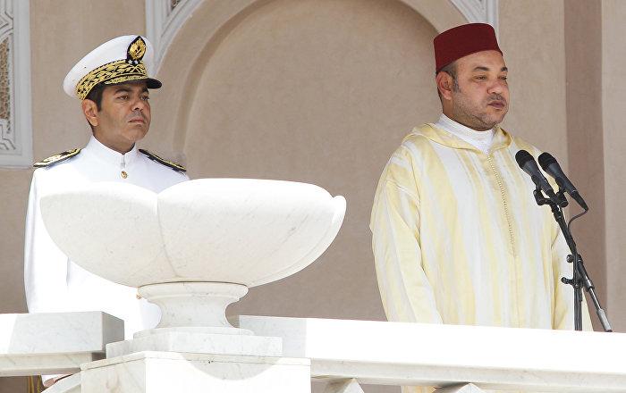 العاهل المغربي يجري مباحثات مع نظيره الإسباني