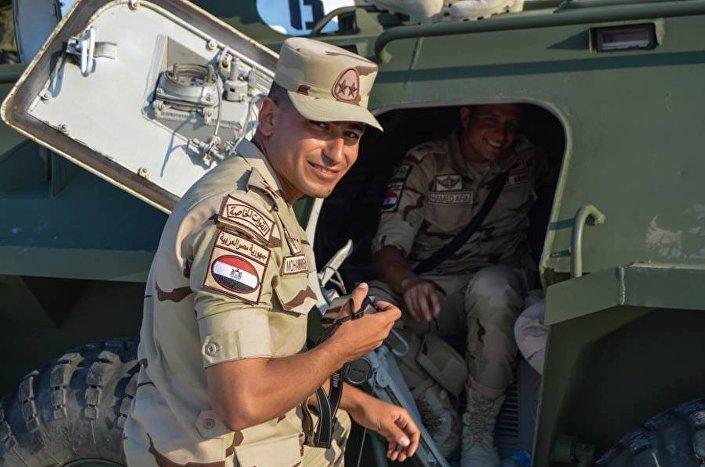 جنود الجيش المصرى فى روسيا