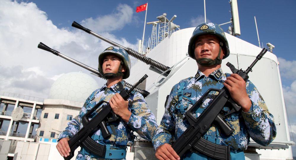 أفراد القوات البحرية الصينية