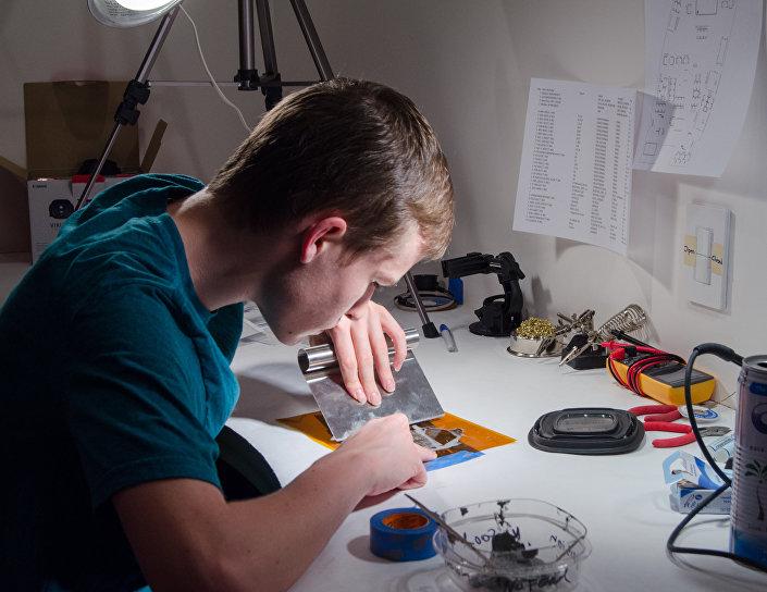 الطالب المهندس الأمريكي اليافع كاي كلويبفير