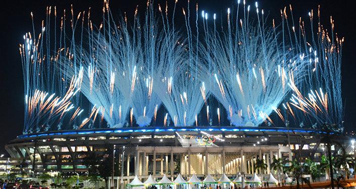 افتتاح دورة الألعاب الأولمبية الصيفية في ريو دي جانيرو