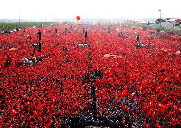 مظاهرات ضد الانقلاب