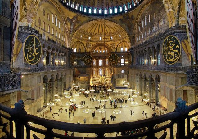 آيا صوفيا في إسطنبول