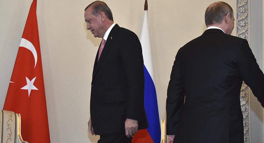 لقاء الرئيس فلاديمير بوتين والرئيس رجب طيب أردوغان