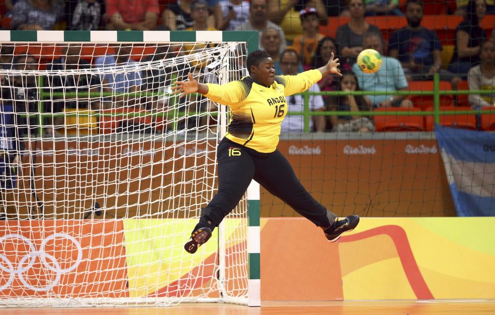أولمبياد ريو 2016 - حارس مرمى من أنغولا، 6 أغسطس/ آب 2016