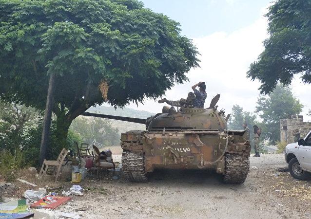 الجيش السوري يبسط سيطرته على حوش نصري