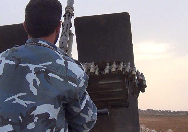 الجيش السوري أمام خطوط النصرة بريف السلمية