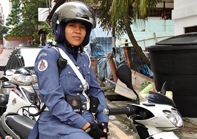 الشرطة فى ماليزيا