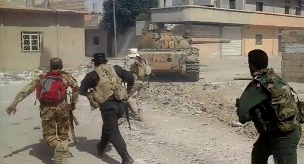 الجيش السوري يتقدم في الحسكة