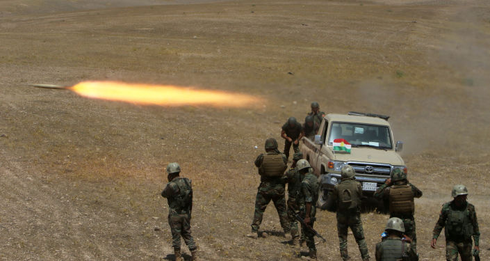 قوات البشمركة الكردية