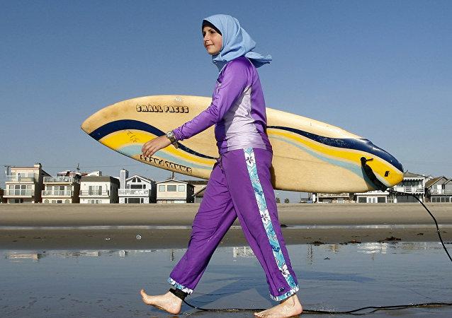 اللباس البحري الاسلامي