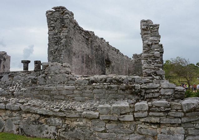 آثار حضارة المايا
