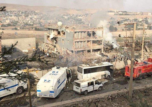 تفجير جيزرة في تركيا