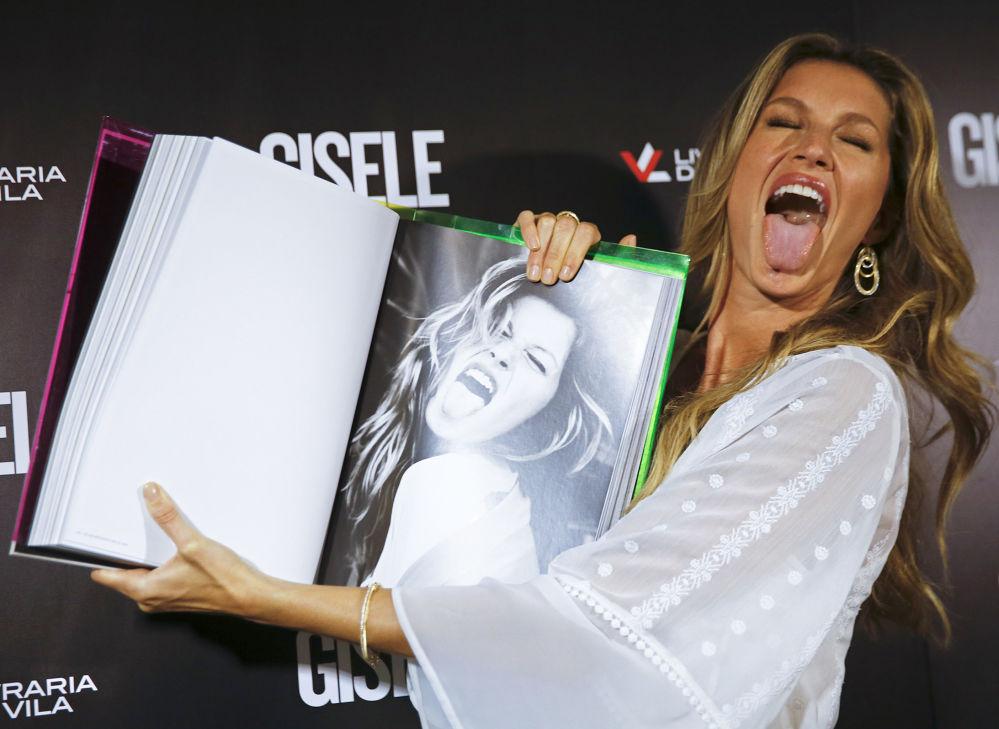 عارضة الأزياء البرازيلية جيزيل باندتشين