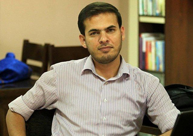 الصحفي الفلسطيني محمد عثمان
